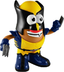 marvel comics wolverine potato head figure