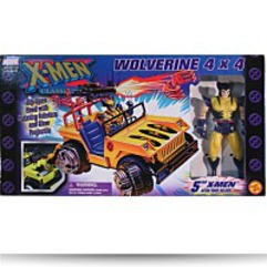 Xmen Classics 4X4 Truck With 5 Wolverine