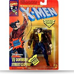 Xmen Wolverine Street Clothes Action