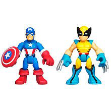 Captain America And Wolverine