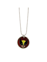 Wolverine Head Image Necklace